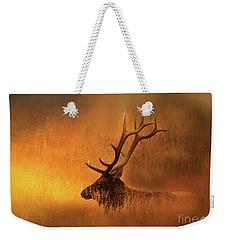 Chillin' Elk Weekender Tote Bag