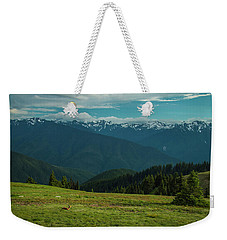 Chilling Out At Dusk Weekender Tote Bag