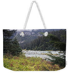 Chillkoot River 3 Weekender Tote Bag