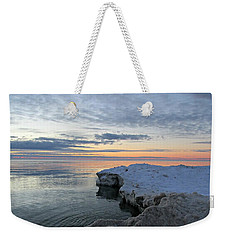Chilly View Weekender Tote Bag by Greta Larson Photography