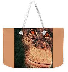 Chimp Weekender Tote Bag by Jack Zulli