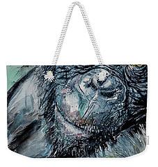 Chimpanzee Weekender Tote Bag
