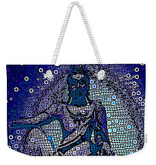 China Contemplation On Antiquity Weekender Tote Bag by Saundra Myles