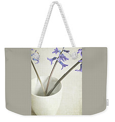 Weekender Tote Bag featuring the photograph China Cup by Lyn Randle