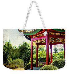 China In New Zealand Weekender Tote Bag