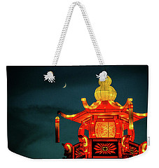 China Night Weekender Tote Bag by Michael Nowotny