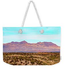 Chinati Range Weekender Tote Bag by Steven Green