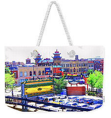 Chinatown Chicago 1 Weekender Tote Bag by Marianne Dow