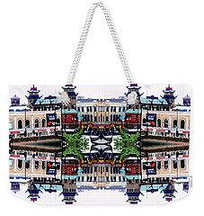 Chinatown Chicago 2 Weekender Tote Bag by Marianne Dow