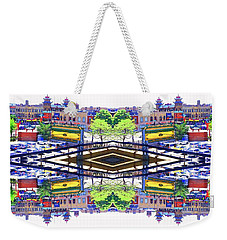 Chinatown Chicago 3 Weekender Tote Bag by Marianne Dow