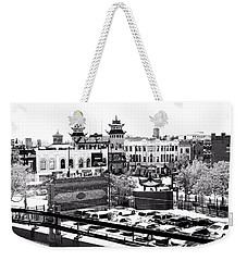 Chinatown Chicago 4 Weekender Tote Bag by Marianne Dow