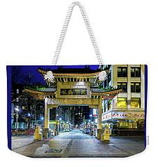 'chinatown' Weekender Tote Bag