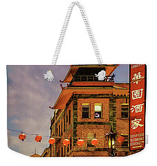 Chinatown San Francisco Weekender Tote Bag