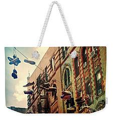 Chinatown Shoe Fling Weekender Tote Bag