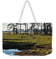 Chincoteague Ponies Weekender Tote Bag