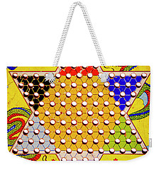 Chinese Checkers Weekender Tote Bag by Paul W Faust - Impressions of Light
