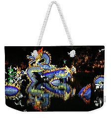 Chinese Dragon Display Weekender Tote Bag