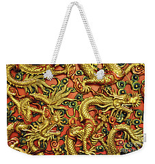 Chinese Dragons Weekender Tote Bag