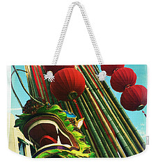 Chinese New Year Weekender Tote Bag by Nina Prommer