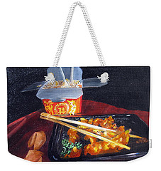 Chinese Take Out Weekender Tote Bag