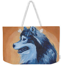 Weekender Tote Bag featuring the painting Chinook by Patricia Cleasby