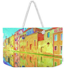 Weekender Tote Bag featuring the photograph Chioggia, Italy by Chris Armytage