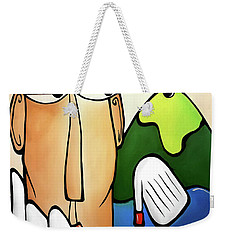 Chip And A Putt Weekender Tote Bag by Tom Fedro - Fidostudio