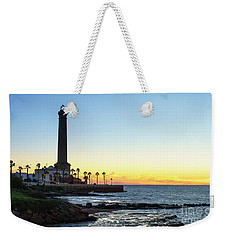 Chipiona Lighthouse Cadiz Spain Weekender Tote Bag by Pablo Avanzini