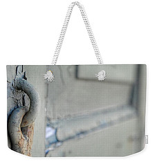 Chipped Latch Weekender Tote Bag