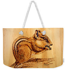 Chippies Lunch Weekender Tote Bag by Ron Haist
