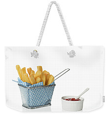 Chips With Tomato Sauce Weekender Tote Bag