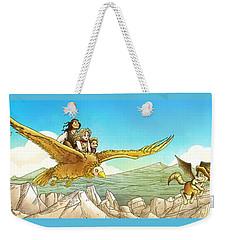 Chiricahua Mountains Panorama Weekender Tote Bag