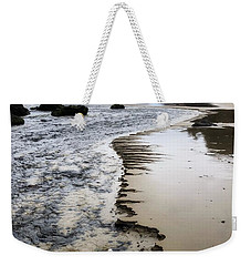Chiseled Beach Weekender Tote Bag