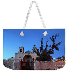 Chiu Chiu Church At Twilight Chile Weekender Tote Bag by James Brunker