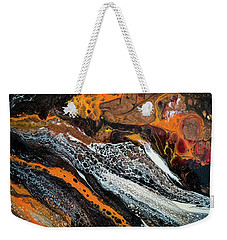 Chobezzo Abstract Series 1 Weekender Tote Bag by Lilia D