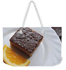 Chocolate And Orange Weekender Tote Bag