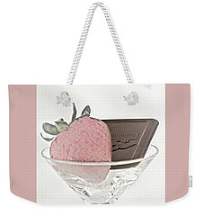 Chocolate And Strawberry Martini Weekender Tote Bag