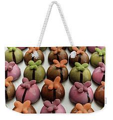 Chocolate Butterflies Weekender Tote Bag