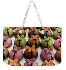 Chocolate Butterflies Weekender Tote Bag