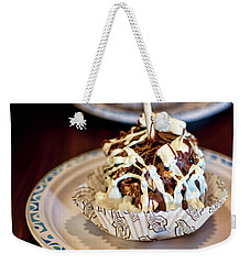Chocolate Caramel Apple Weekender Tote Bag