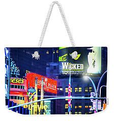 Chocolate Covered Broadway Weekender Tote Bag