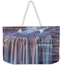 Weekender Tote Bag featuring the photograph Chocolate Swirls by Tom Kelly