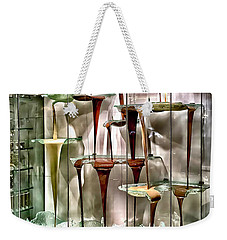 Chocolate Fountain In Bellagio Weekender Tote Bag