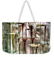 Chocolate Fountain In Bellagio Weekender Tote Bag by Walt Foegelle