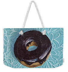 Chocolate Glazed Weekender Tote Bag
