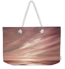 Chocolate Shake Sunset Weekender Tote Bag
