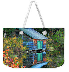 Chocorua Boathouse Weekender Tote Bag