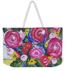 Choice Bouquet Weekender Tote Bag