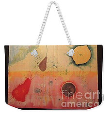 Weekender Tote Bag featuring the painting Choking by Xn Tyler