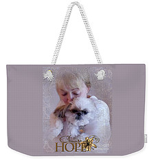 Choose Hope Weekender Tote Bag